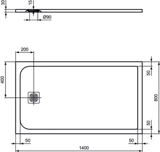 IS_UltraFlatS_K8237_PrListDrw_NN_shower-tray140x80
